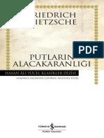 Friedrich Wilhelm Nietzsche - Putların Alacakaranlığı