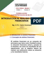Semana 3 Introduccion Al Analisis Financiero