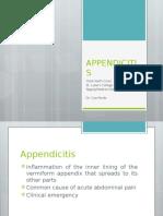 Appendicitis -
