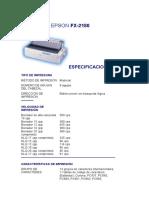 EPSON FX-2180 {Matrix Printer}
