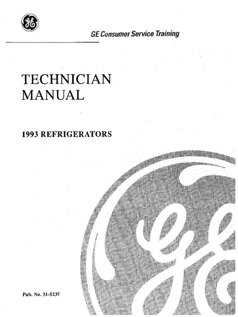Refrigerador TFX24   Ge Tfx24 Wiring Schematic      Scribd