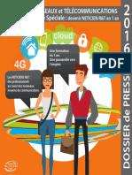 Dossier de Presse 2016 DUT Réseaux & Télécoms en Année Spéciale IUT de Lannion