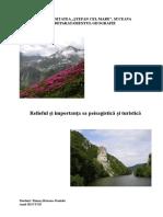 Relieful Și Importanța Sa Peisagistică Și Turistică
