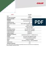 Ficha Técnica - Caloi 500