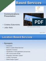 Location Based Services Presentation