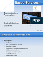 Location Based Services Presentation