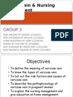 g3 Varicose Vein Nursing Management
