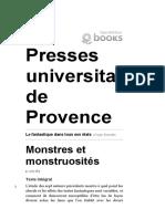 Le Fantastique dans Tous ses États - Monstres et Monstruosités (Roger Bozzetto).pdf