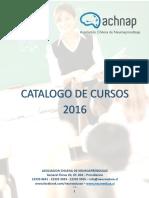 Catalogo de Cursos 2016