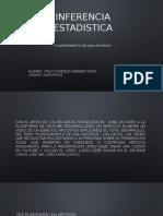 Inferencia Estadistica - Hipotesis