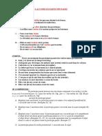 l'Accord Du Participe Passe