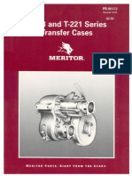 Rockwell T 221 T 223 Transfer Case Parts Manual