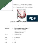 Balanza de Pagos Del Peru Impr