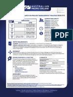 2015 Project Management Courses