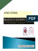 Actinio y actinidos