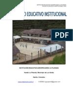 Proyecto Educativo Institucional 2016