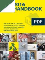 Master Locksmiths Association 2016 Handbook