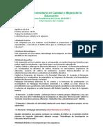Oferta Academica Calidad y Mejora 16-17