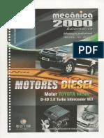 Mecanica 2000 - Série Diesel 2011 Nova Hilux D4D 3.0