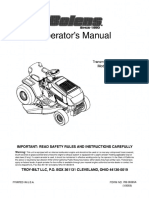 Bolens 683 Lawn Tractor Owner's Manual 13AN683G163