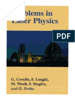 Kluwer - 2001 - Problems in Laser Physics
