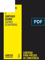 (Libertad Presos Conciencia-Guinea Ecuatorial Marcelino Nguema Santiago Asumu