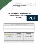 Pro Pro 013- Refine de Zanjas