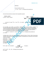 Simulacro Matematica Remediar 2015