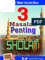 3 Risalah Sholat eBook
