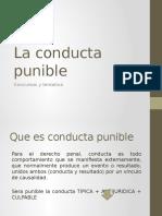 Conducta Punible - Tentativa y Concurso