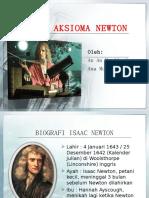 Metode Aksioma Newton - Tugas FISIL