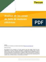Análisis de Las Zonas de Falla de Motores Eléctricos
