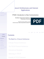 Protocol Architectures and Internet Applications