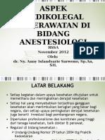 01. Peran Perawat Anestesi -Dr Anny