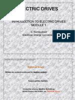 Principal of Electric drives