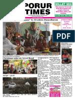 Porur Times Epaper Published on Dec. 25.