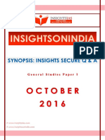 GS I October Insights