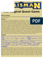 Talisman the magical quest game - Expert Rule Book.rtf