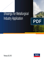 Shaangu for Metalurgical Industry 2013