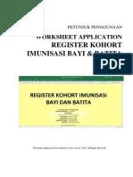 Manual RegisterKohort BayiBatita Ver.2016