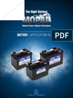 Mopar Battery