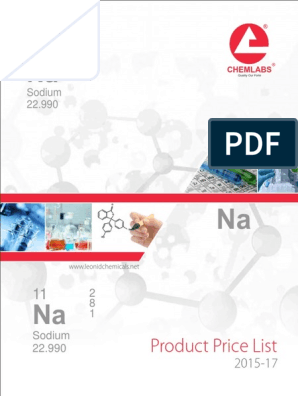 Catalog-2015 -17 | Solvent | Chemical Compounds