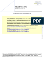 Antibody Therapeutics in Cancerr
