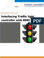 Interfacing Traffic Light With 8085 Trainer Kit