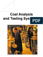 Coal Analysis and Testing Systems