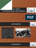 EXPO. Tribunal Penal Internacional Ruanda