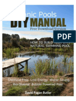 DIY Natural Pool Manual Free Version