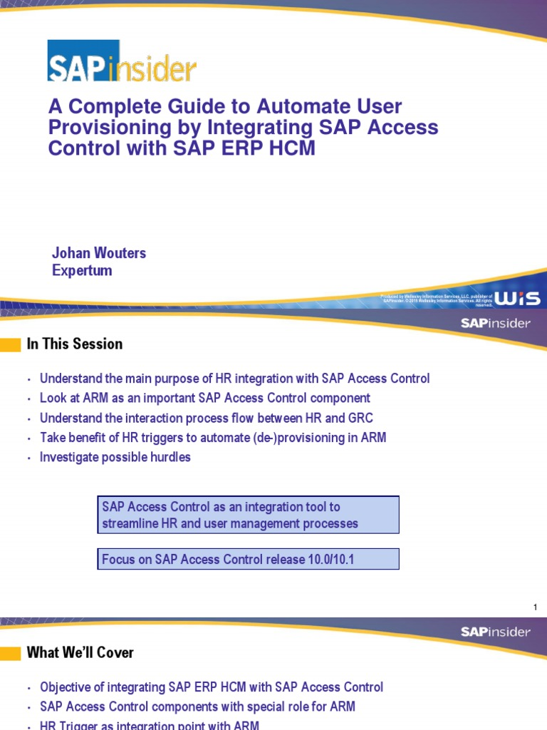 a complete guide to automate user provisioning by integrating sap rh scribd com SAP HR Solution SAP HR Information