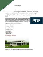 Sejarah Arsitektur Modern