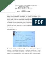 Runge -Kutta Methods for IVPs